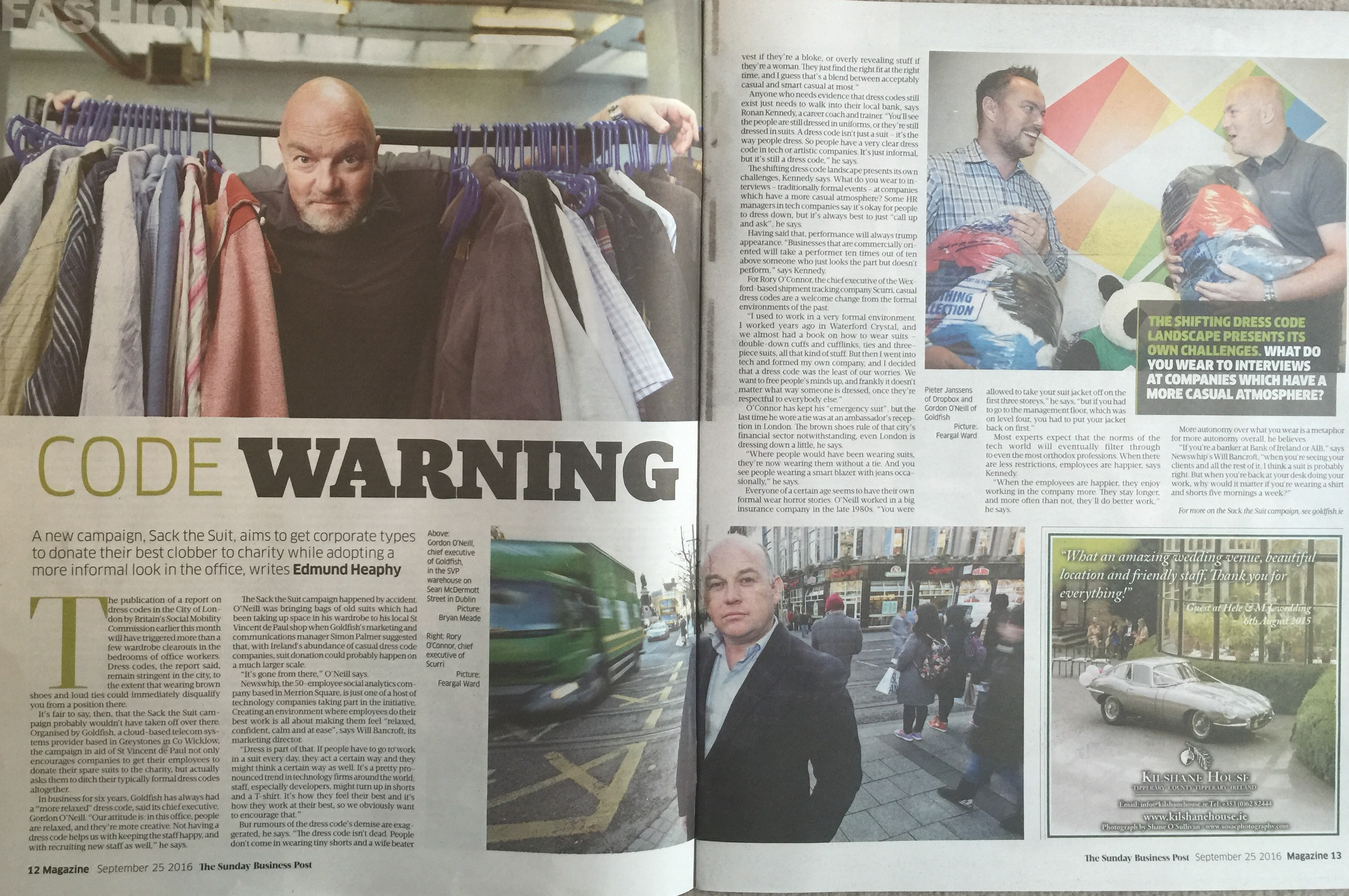 The Sunday Business Post: CODE WARNING.